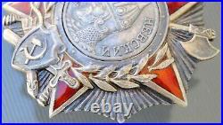 100% ORIGINAL SOVIET RUSSIAN ORDER Nevsky MEDAL USSR WW2 Russia badge silver