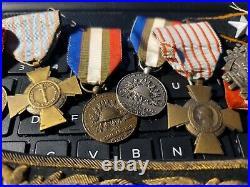 10-ww1 France Medals, Shoulder Boards Dealer Blow Out $100-see Store Deals