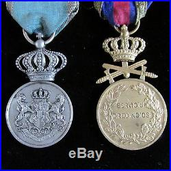 11 Ww2 Romanian Military Rare Flag Six Medals Belt Buckle -3 Sliver Coins