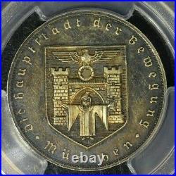1941 Germany Medal PCGS SP62 Munich Foundation WW2 Era Third Reich
