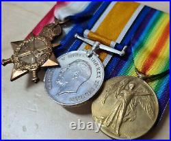 1. R. N. A. S & R. A. F. Ww1 Russia Died Of Malaria 1919 Medal Group Cpl W H Brooker