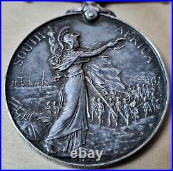 2932 Bugler Black Highland Light Infantry Queens South Africa Medal India & Ww1