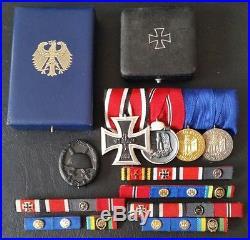 7183 German medal group veteran legacy post WW2 1957 pattern Iron Cross