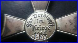 8398 German WW1 Hamburg Hanseatic Cross medal Hanseatenkreuz enamelled