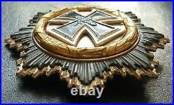 8556 German Cross Gold medal 1957 pattern Deutsches Kreuz post WW2 maker ST&L