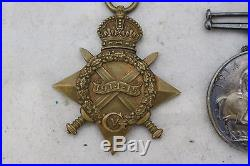 8 WW1 Medals Star of AFRICA, ITALY, 1939-45, France & Germany, 1914-15 E. Fittes-250
