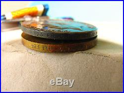 AUST WAR MEDAL WW1 973 & 974 TRINDER W & G E BRO 29th BN AIF (BEF Broken Group)