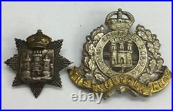 Antique X3 WW1 Medals Prisoner Of War Leslie Southam X2badges X3 Papers