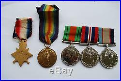 Australian WW1 Anzac KIA Gallipoli WW1 medals sons WW2 service medals