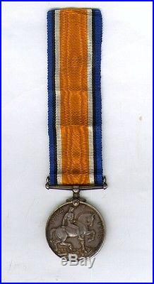 Australian WW1 British war medal. 9LHR. MID Gallipoli. WIA Gaza Original ANZAC