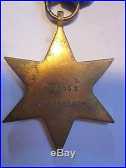 Australian WW2 medal group. Served 61st Infantry Battalion Milne Bay New Guniea