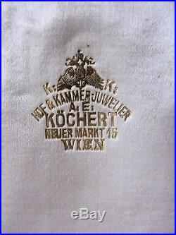 Austria WW1 Cross Military Merit 3 Cl 1914-1918 Medal Decoration Austrian Kaiser