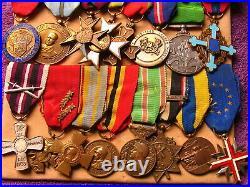 BRITISH WW2 2nd LT EDGAR W S HAWKINS 1 OF BRITIANS MOST DECORATED VETERAN MEDALS
