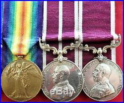 Boer War & Ww1 British Army Msm For India Medal Group To