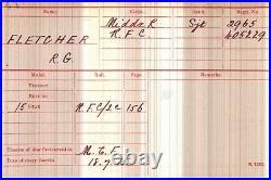 Boer War, Ww1 & Ww2 Medal Group Sgt Fletcher, Middlesex Rfc Raf West Surrey