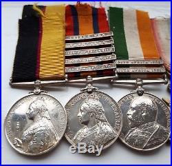 Brilliant Scarce Sudan Khartoum Boer War WW1 Lancashire Fusiliers Medal Group