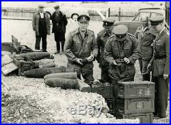 Brilliant WW2 MBE George Medal Civil Gallantry Bomb Squad Police Medal Group
