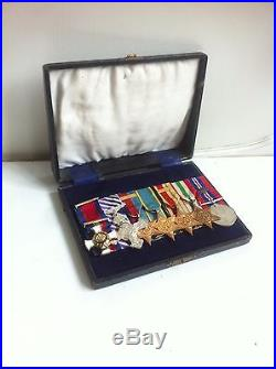 British WW2 Replacement DSO/DFC RAF Medal Group Attributed To PO Hugh Eliot