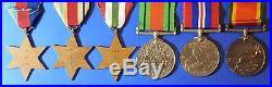 British World War 2 Medal Group 42nd Lt Antiaircraft S African Artillery Ab0138