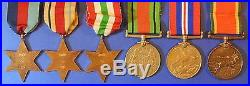 British World War 2 Medal Group South African Armed Forces Ab0137