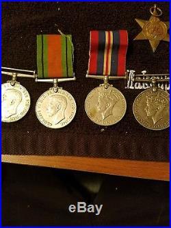 British World War II Medals 1939-1945