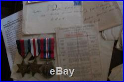Captain. Lady Doctor. R. A. M. C. Ww2. Medals. Official & Personal Papers