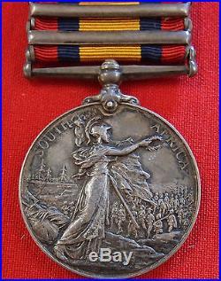 Captain Machine Gun Section Pre Ww1 British Army Queens South Africa Medal Qsa