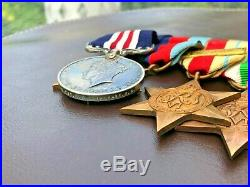 D-Day WW2 Military Medal Gallantry Bravery Group RAMC / DLI Bayeux Escaped Enemy