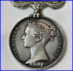 Died Disease Pre Ww1 British Crimean War Medal Sebastopol Porter 5th Dragoons