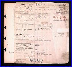 Died Ww1 Royal Navy Air Service Rfc & Ww2 R. A. F To Flight Sgt Daniel M. I. D