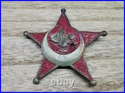 ESTATE FIND WW1 Turkish Ottoman star Australian Veteran Gallipoli star medal
