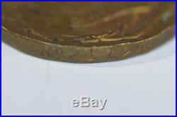 Early WWI USMC Good Conduct Medal Numbered #21724 with RARE full award Bars WW1