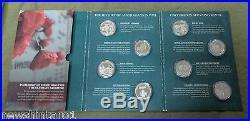 Eight Modern First World War Collection Silver Medals