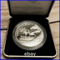 End of World War II 75th Anniversary Silver Medal