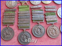 Family group of medals to the Pocock of Berkshire. Egypt 1882 & WW1 Medals ++