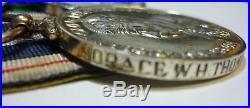 Fantastic Rare WW1 WW2 Kings Police Gallantry Medal Group Palestine Police