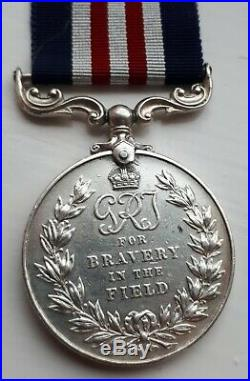 Fantastic WW2 Gallantry Military Medal Italy Fighting Action Gurkha Medal Group