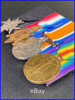 Fine WW1 St John Ambulance & RAMC Surgeons medal group Captain Goyder