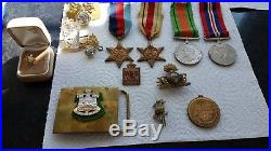 GB Group of 5 1st and 2nd World War Medals