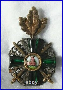 GERMAN MEDALS- Baden Imperial-WW 1-'Grand Duchey Order of the Zähringer Lion