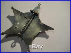 Gallipolli star award medal from German soldier WW I in Turkey original rare