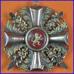 German Germany WWI WW1 Gold Baden Order Zahringer Lion Commander Cross Medal