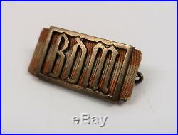 German WW2 lapel pin YOUTH table award soldier medal officer badge ribbon bar