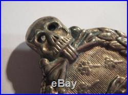 German WWI WW II tank fight medal 1914-1945 award original award rare