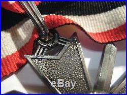 German WW II medal knight cross war merrit swords 41 marker 800 rare Wehrmacht