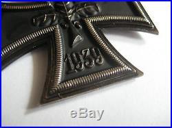 German WW II medal original knight cross with ribbon 800 marker silver award