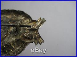 German WW I air force bavarian pilot medal genuine antique badge rare award 1914