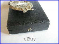 German WW I air force imperial pilot medal genuine antique award in Juncker case