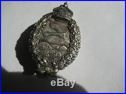 German WW I air force prussia pilot medal genuine antique badge rare award 1914