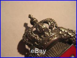 German WW I prussia air force Poellath observer medal old original badge pilots